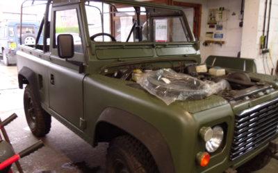 Land Rover 90 Soft Top