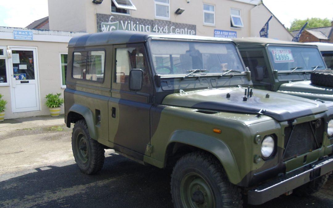 Ex- MOD Land Rover 90 Hard Top