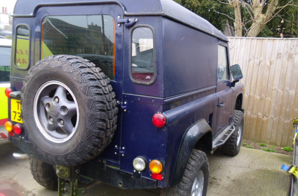Land Rover V8 90/ NOW SOLD